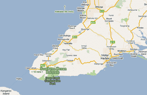 Map Of Australia Kangaroo Island.Fleurieu Peninsula Map Cape Jervis Deep Creek Kangaroo Island South