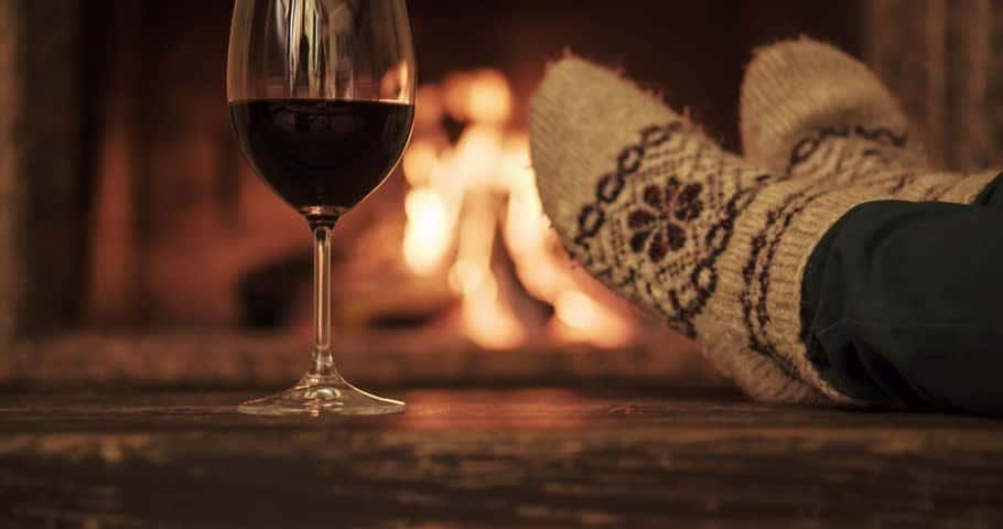 A walk. a wine, a wood fire.