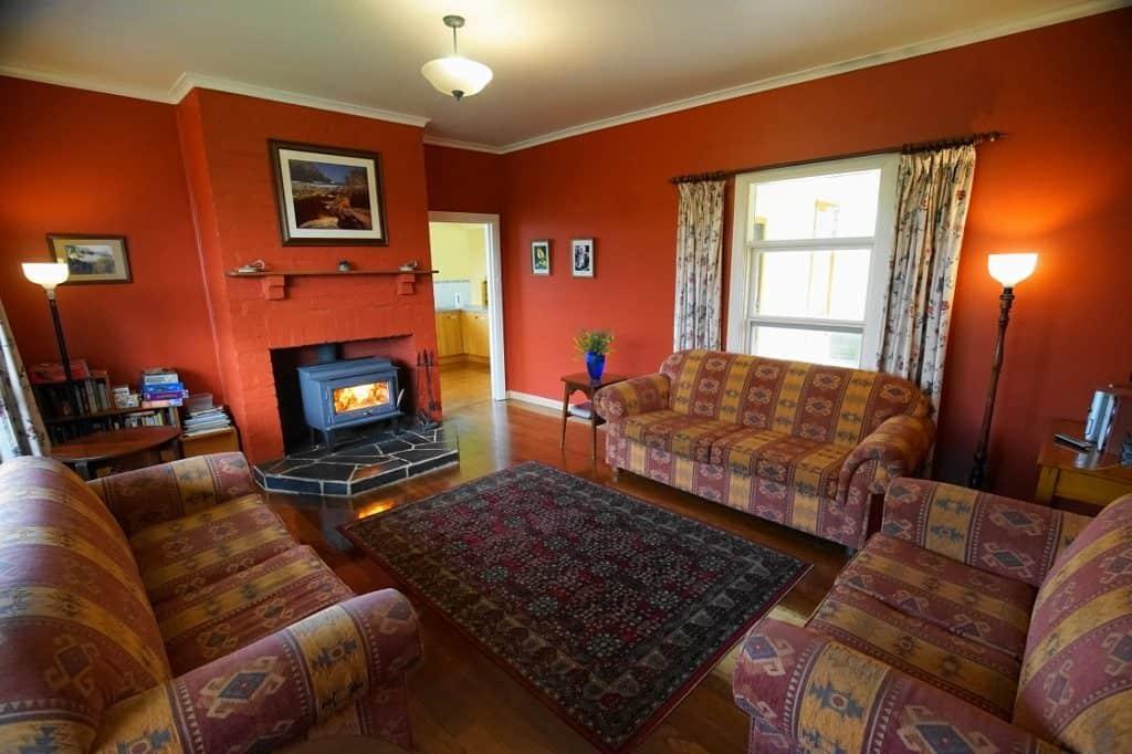 Deep Creek Homestead - lounge room. Southern Ocean Retreats