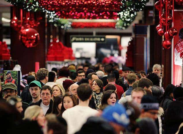 How to cope with Christmas Crowds