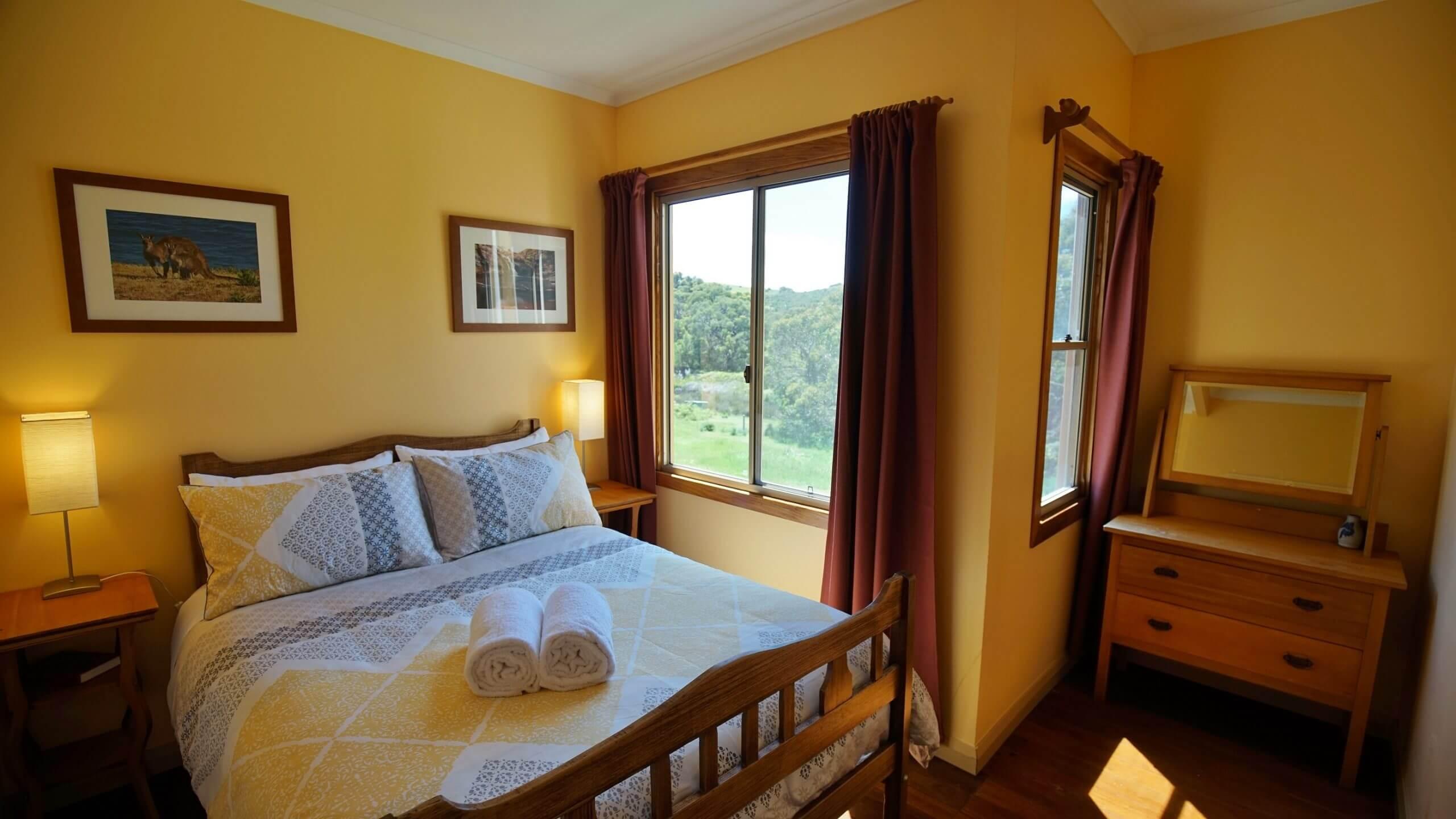 Homestead double bedroom