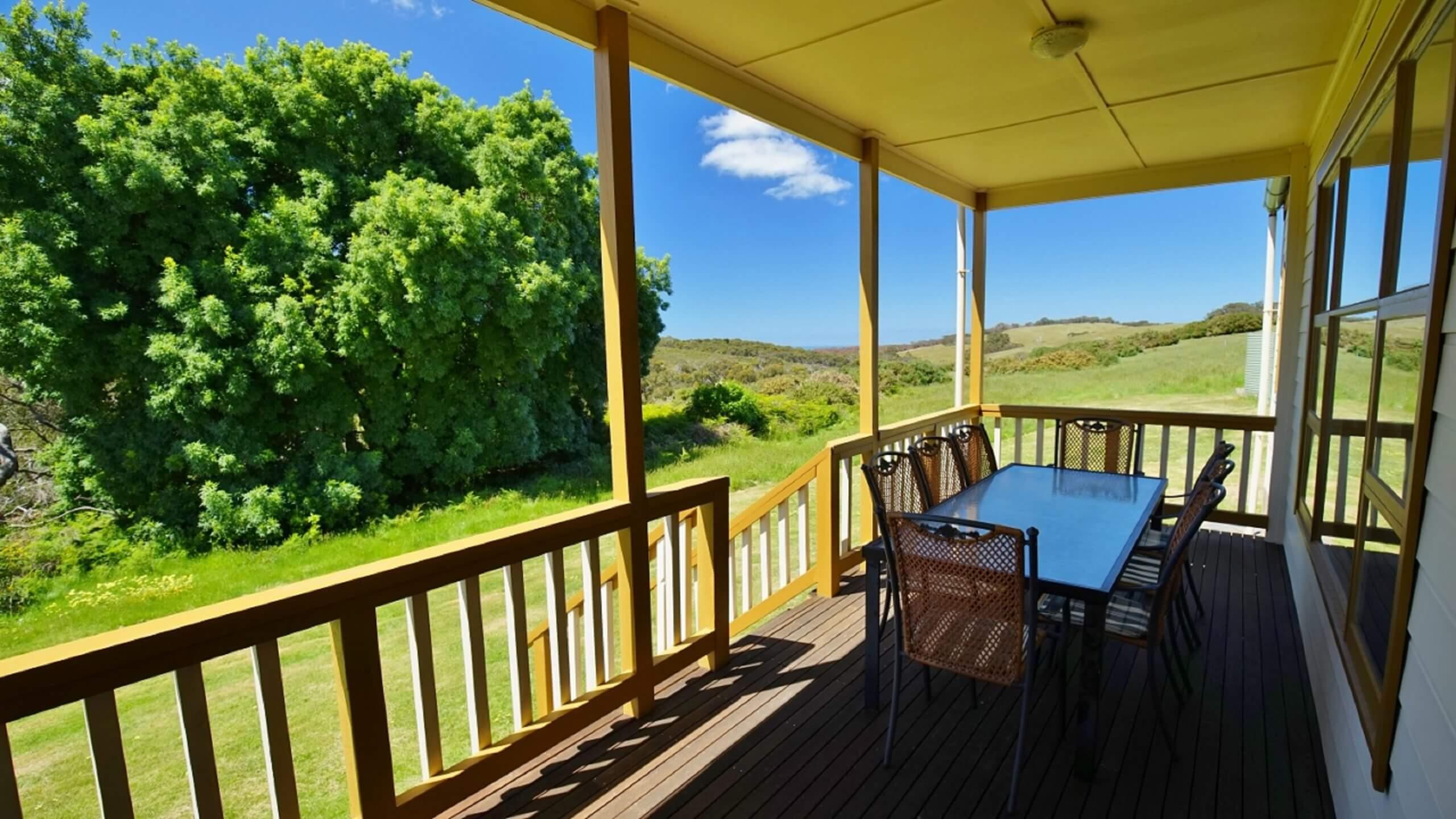 Fleurieu Peninsula accommodation with views