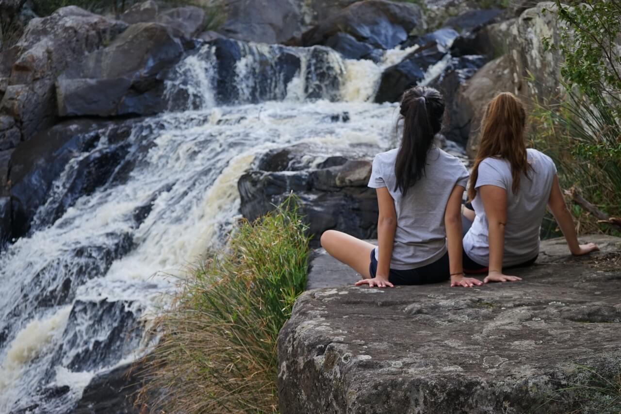 Deep Creek Waterfall hiking trail